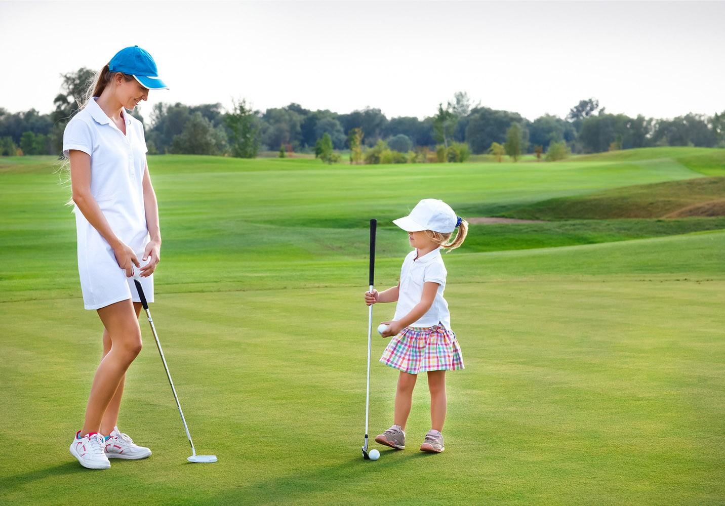 women in golf