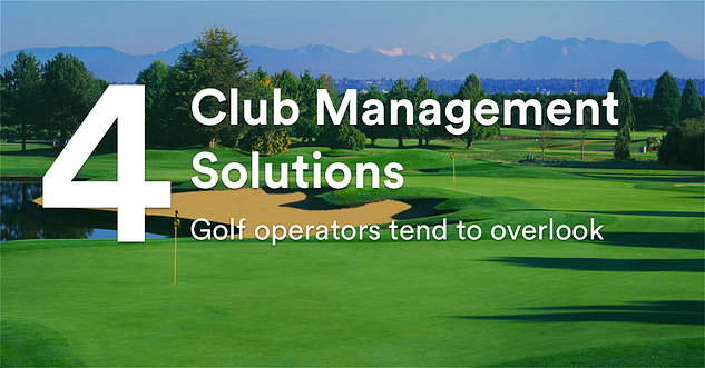 country club management software