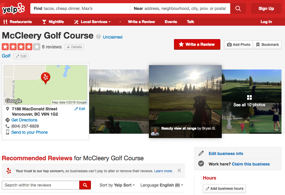 golf marketing reviews