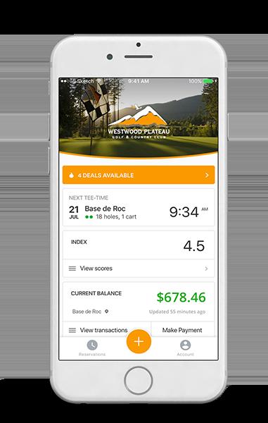 millennial golfer marketing mobile app