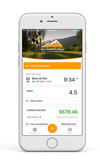 millennial golfer marketing mobile app