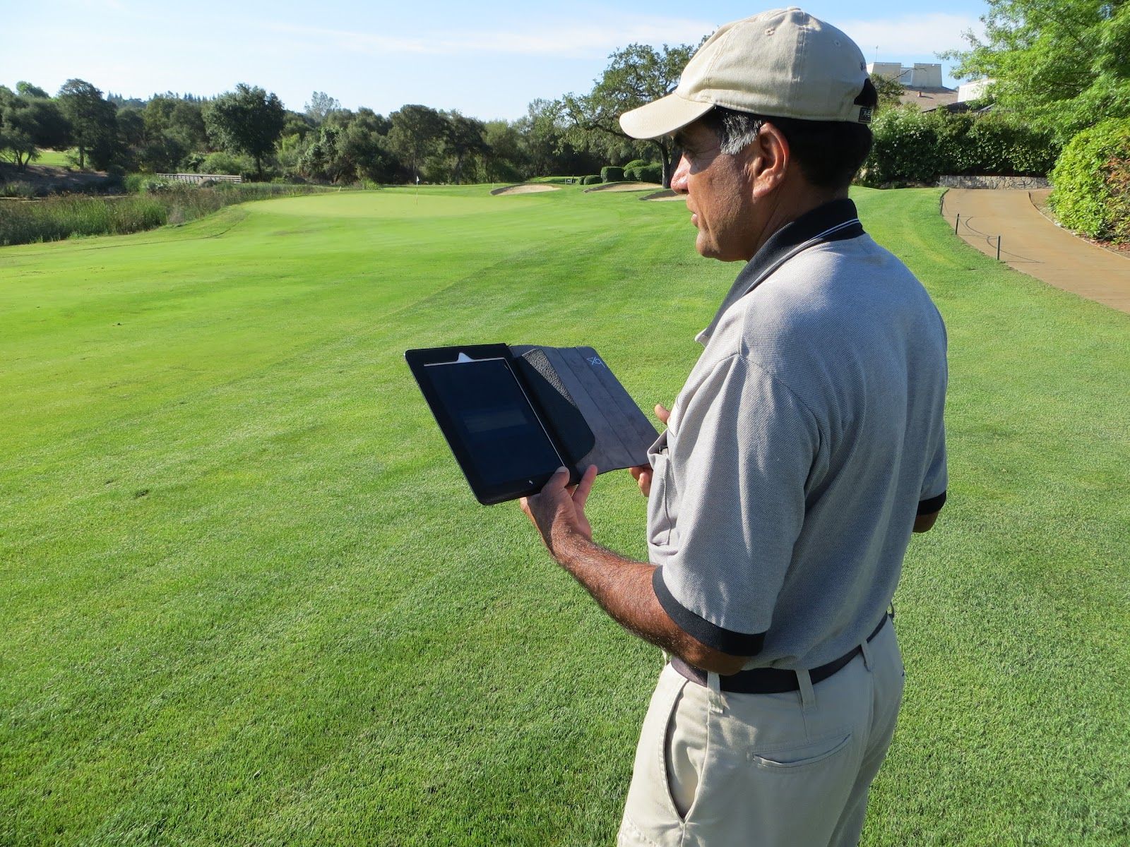 online golf course pos