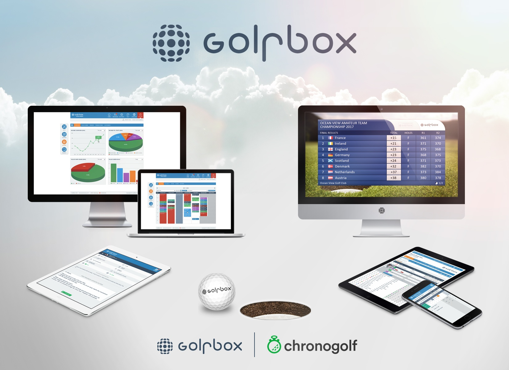 Chronogolf finalizes partnership with GolfBox A/S