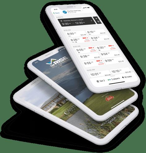 golf app design
