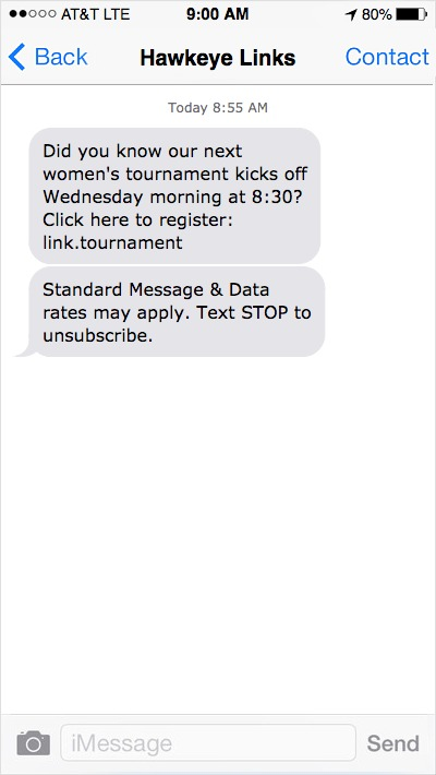 golf-course-text-message-marketing-events