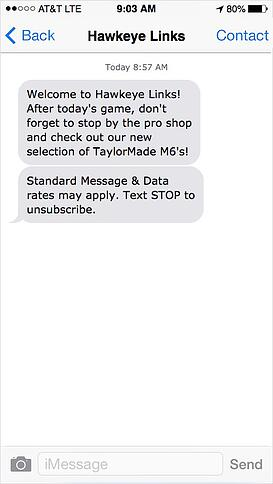 golf-course-text-message-marketing-promotions