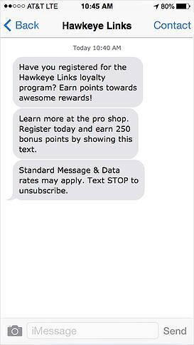 golf-course-text-message-marketing-loyalty-program