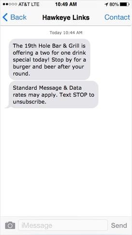 golf-course-text-message-marketing-restaurant