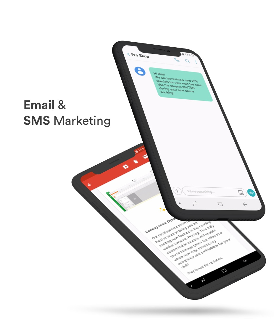 email marketing phone