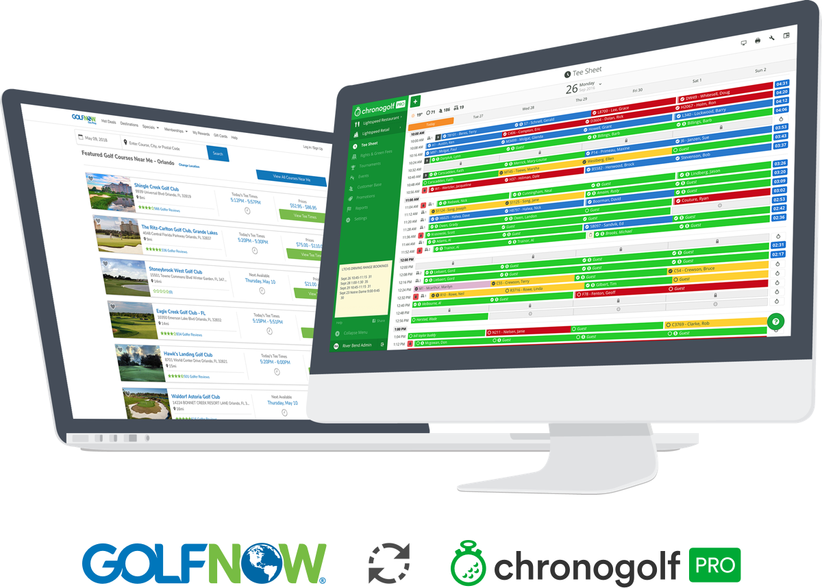 software tee sheet computer golfnow