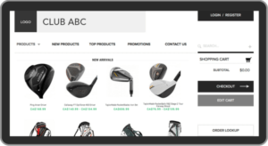 golf pro shop ecommerce