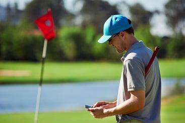 golf email newsletter