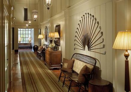 golf course restaurant interior design