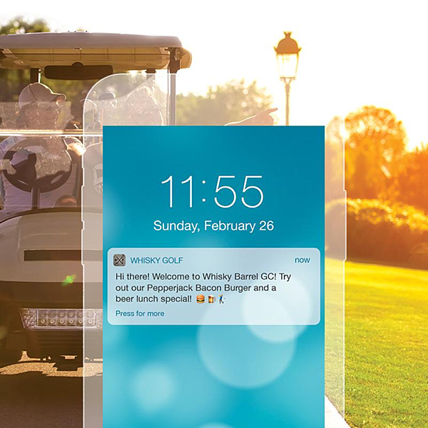 golf course notification