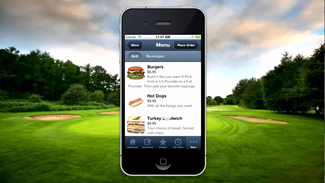 golf course restaurant ideas