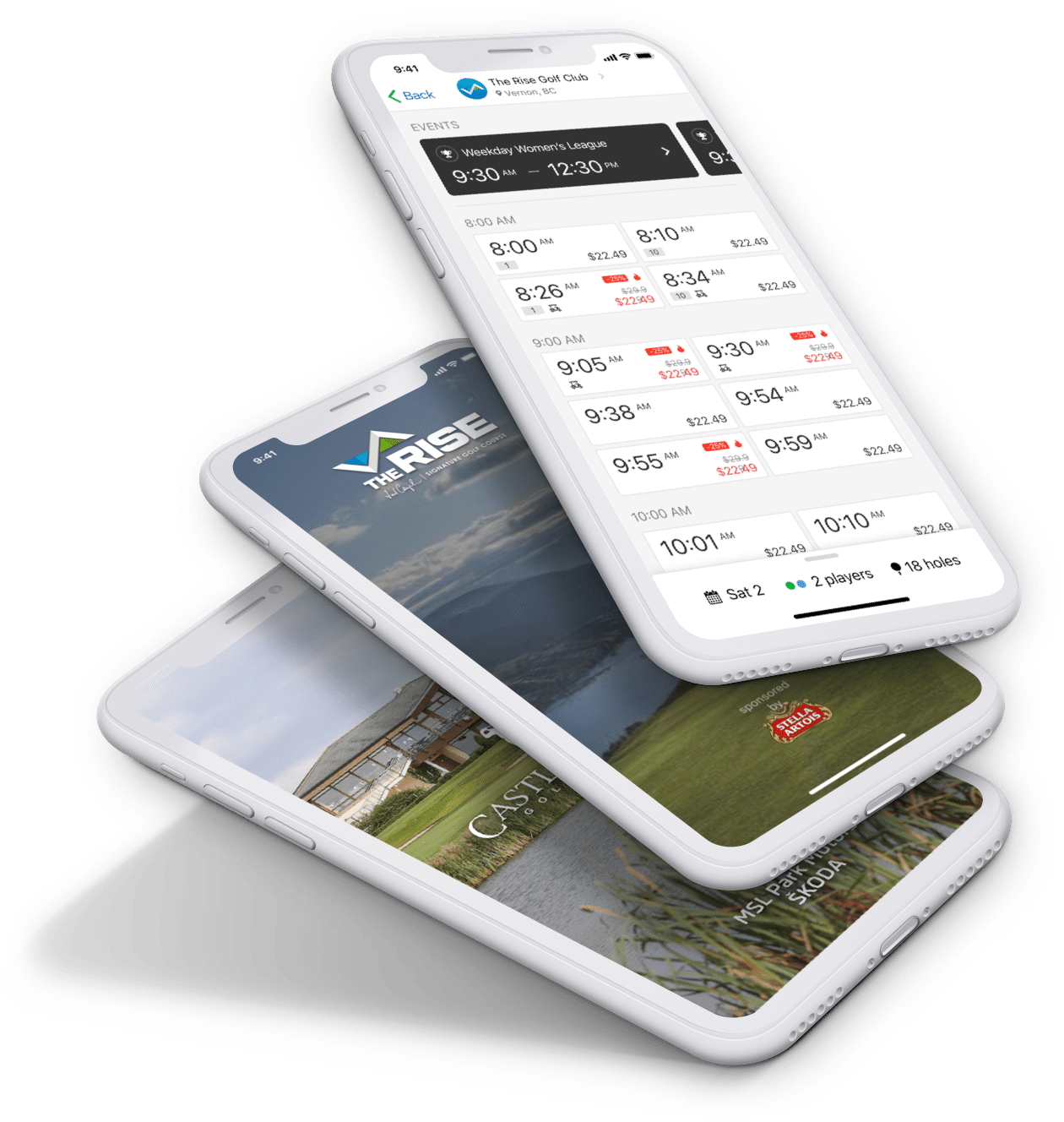 Chronogolf - Mobile App