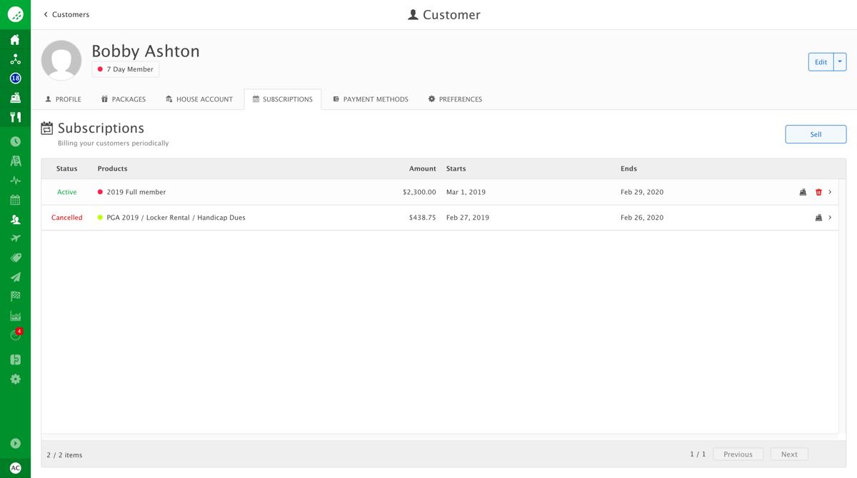 Customer-billing