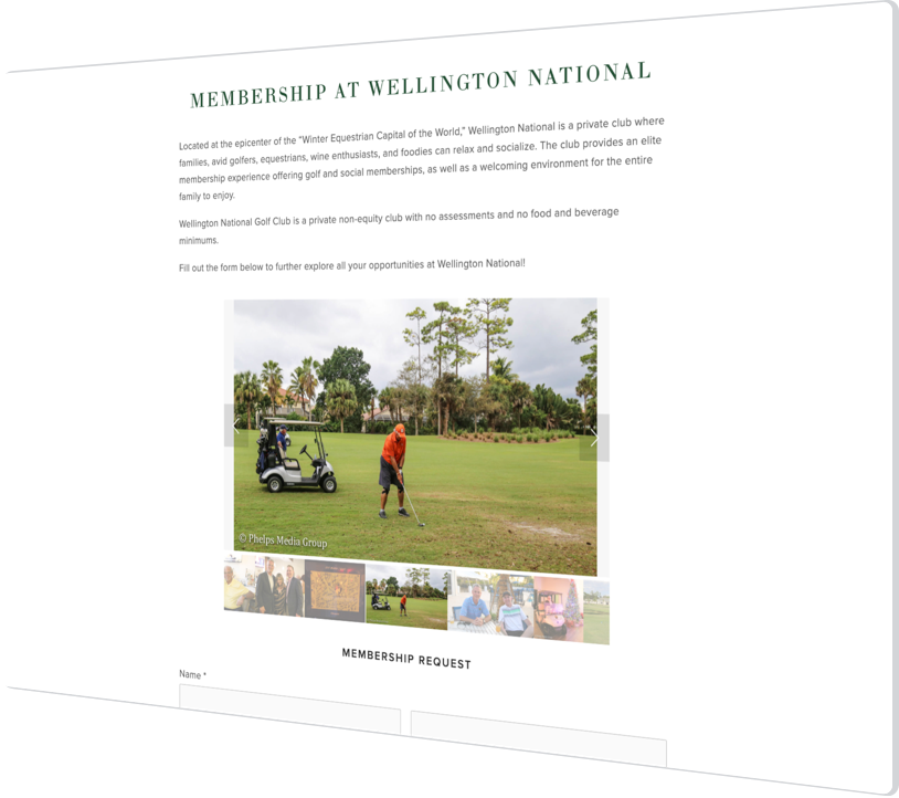 How Private Golf Club, Wellington National Improved Its Member Experience