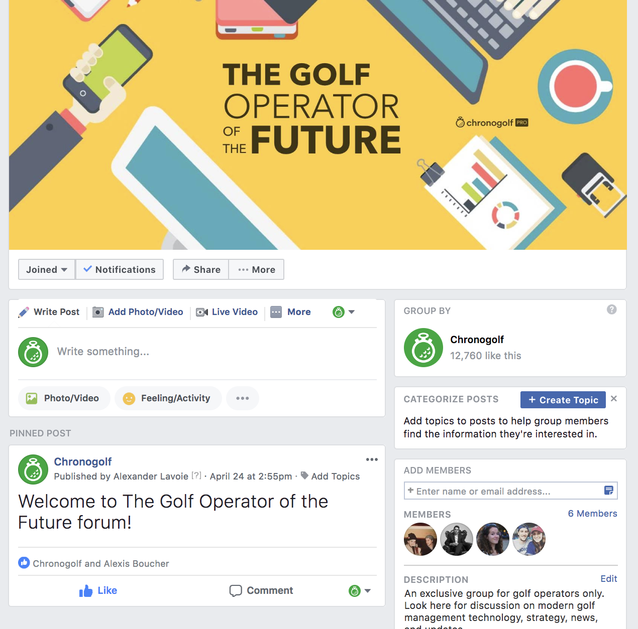 golf course social media strategy