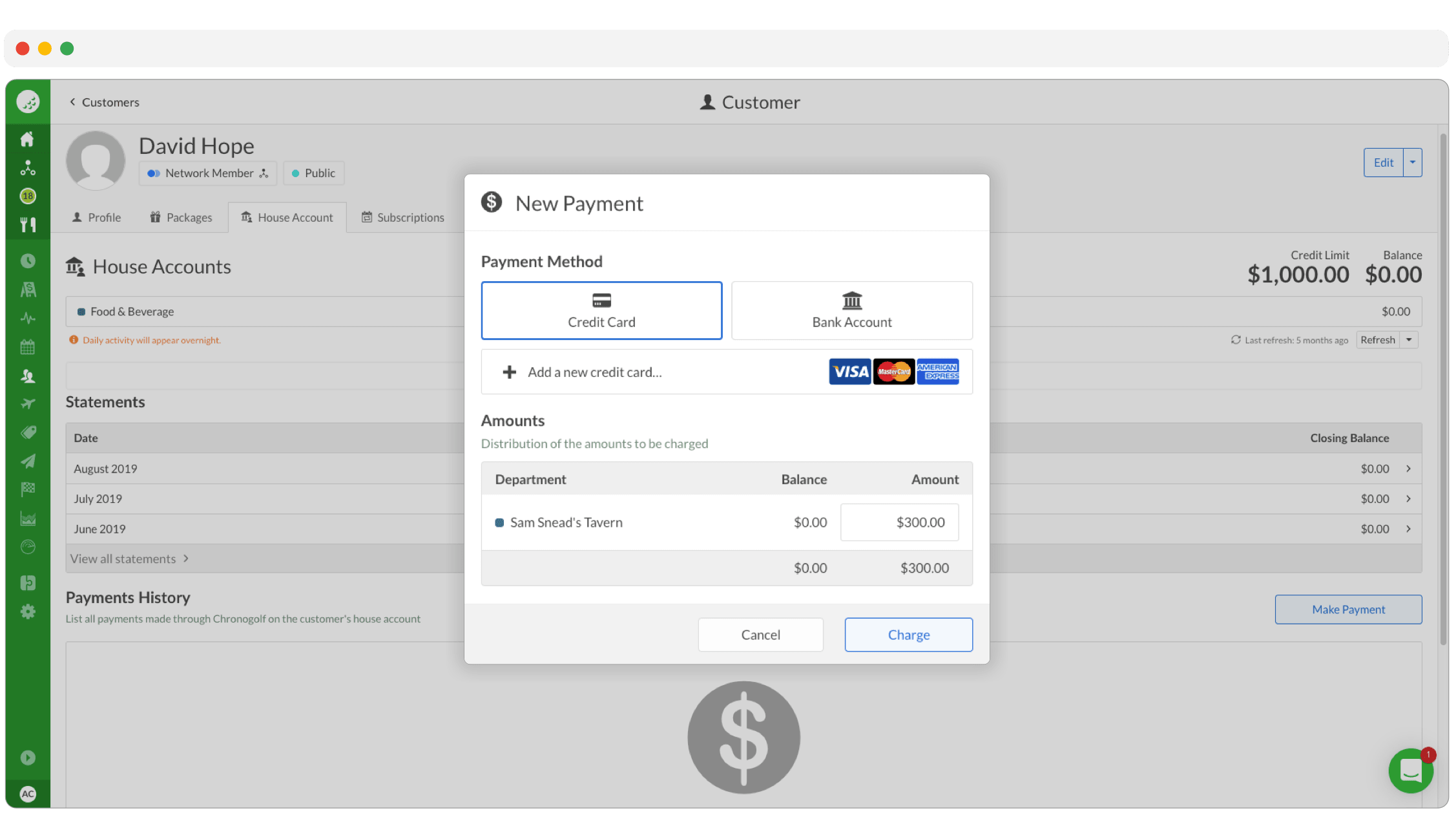 CRM-payment