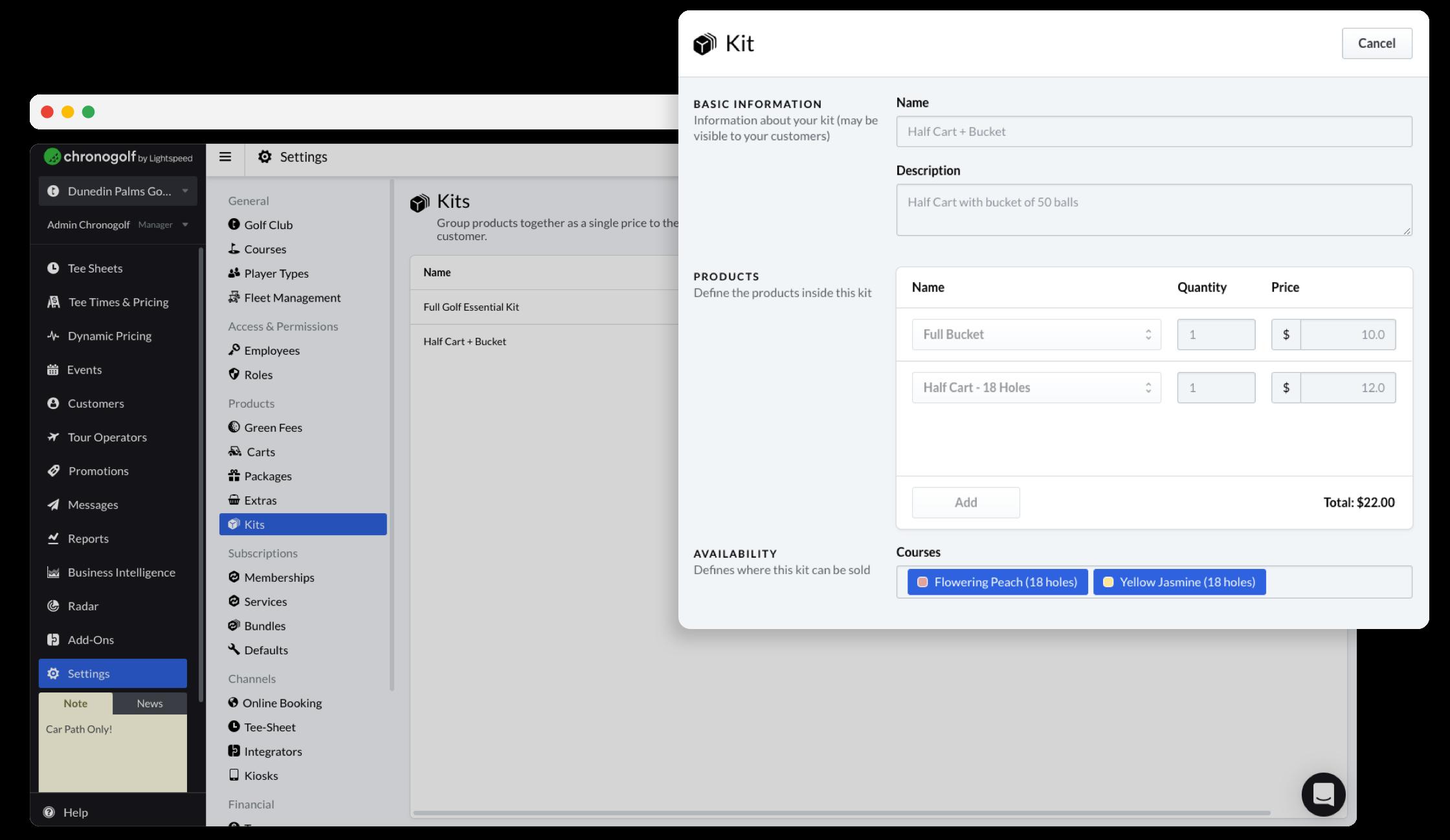 kit-interface